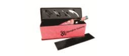 Pink Wine Box and Tools Gift Set