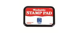"Red Washable Ink Pad 3.5""x2.25"""