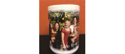 Father's Day Gift. Customized Father's Day Mug.  No minimum order.  Upload your picture, write your message, your mug ready or shipped the next business day.