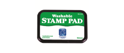 "Green Washable Ink Pad 3.5""x2.25"""