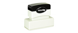 "Maxlight pre-inked stamp, high quality impression.  Impression size .625"" X2.43."