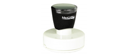 "MaxLight 655 Round 2-1/8"" or 2.125 Pre-inked Stamp. High quality impression."