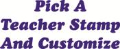 Custum Teacher Picks